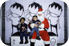 paper,crown,gallery,paper crown gallery,arlington heights,illinois,christmas,santa,photo,booth