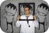 halloween,party,photo booth,paper crown,gallery,arlington heights,illinois